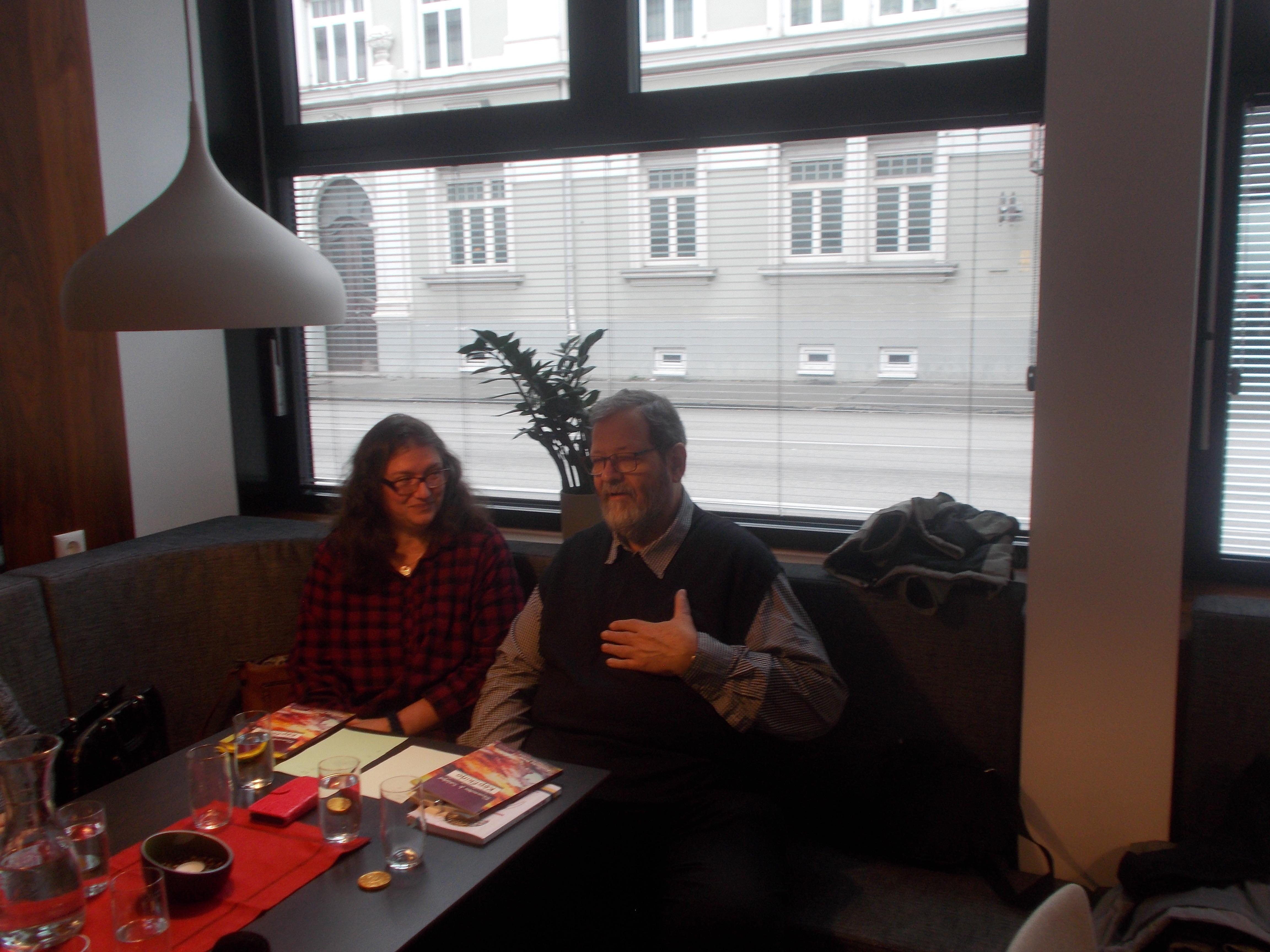 Hier das Ehepaar Manuela und Michal Maria Lipp.